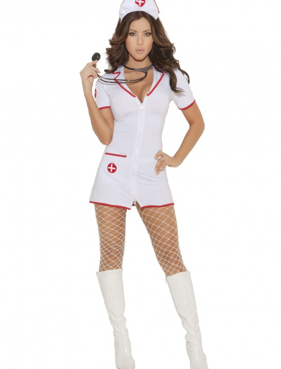 Womens Head Nurse Costume, halloween costume (Womens Head Nurse Costume)