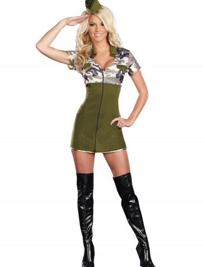 Women's Hot General Lee Costume, halloween costume (Women's Hot General Lee Costume)