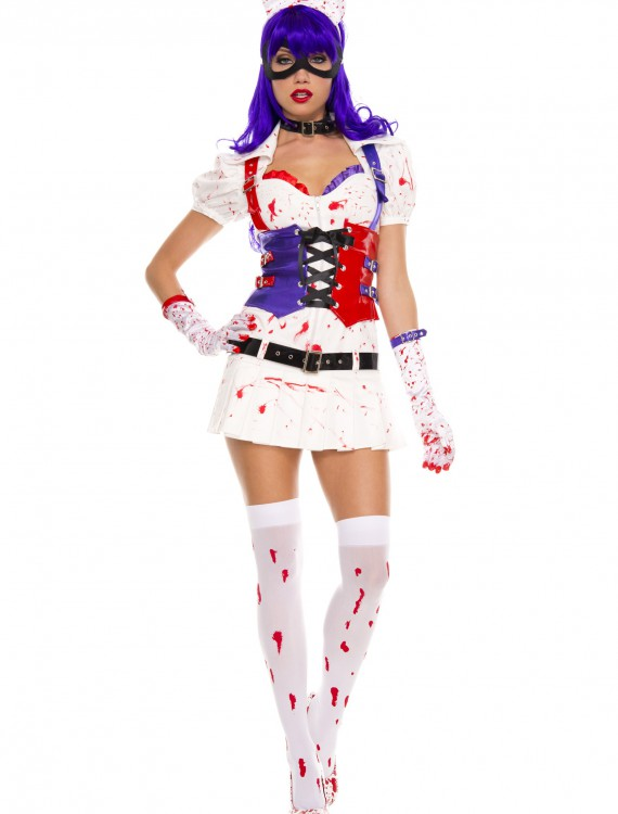 Womens Hot Mess Harley Costume, halloween costume (Womens Hot Mess Harley Costume)