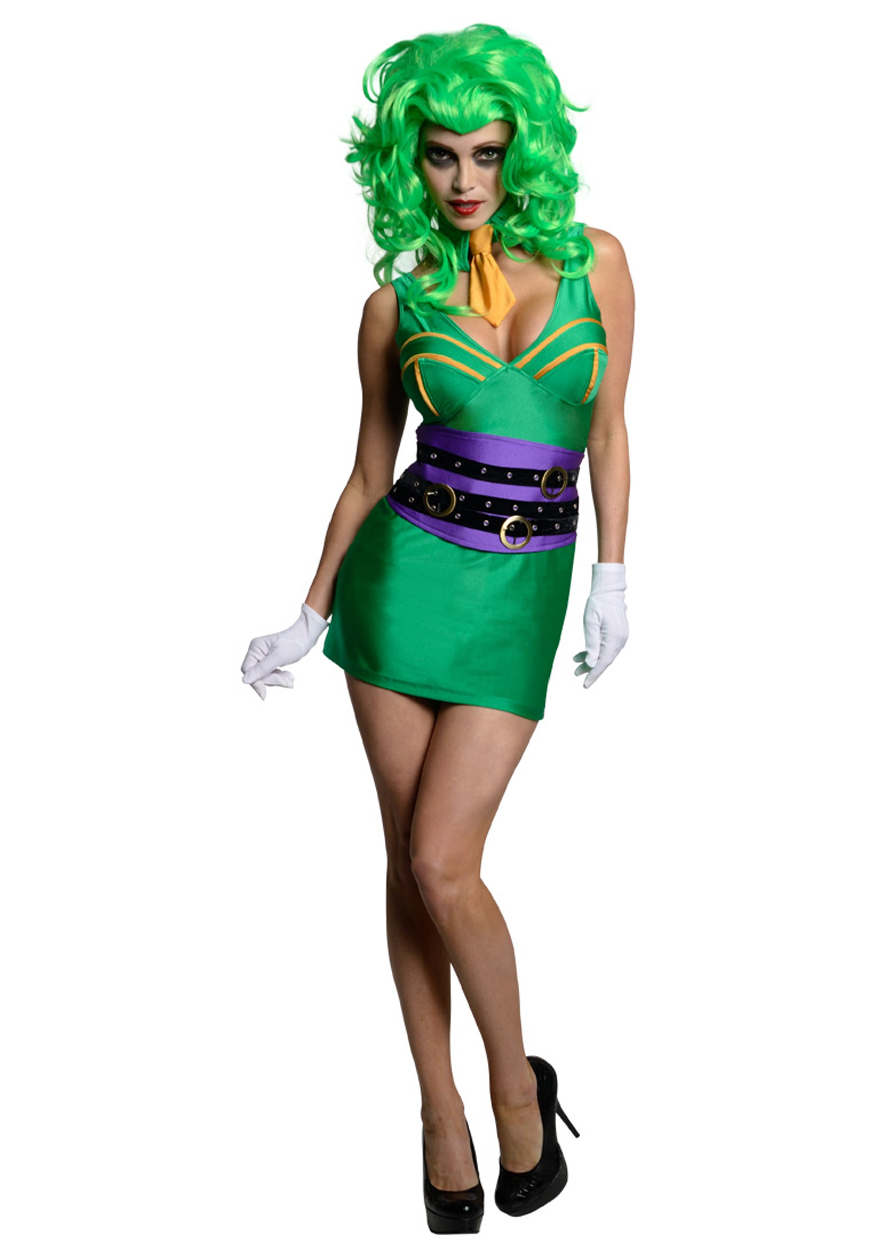 Womens Joker Costume  sc 1 st  Halloween Costumes & Womens Joker Costume - Halloween Costumes