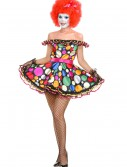 Womens Just Clownin Costume, halloween costume (Womens Just Clownin Costume)