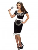 Women's Keep it Clean Maid Costume, halloween costume (Women's Keep it Clean Maid Costume)