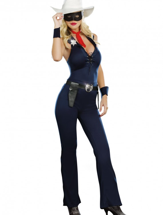 Women's Lone Cowgirl Costume, halloween costume (Women's Lone Cowgirl Costume)
