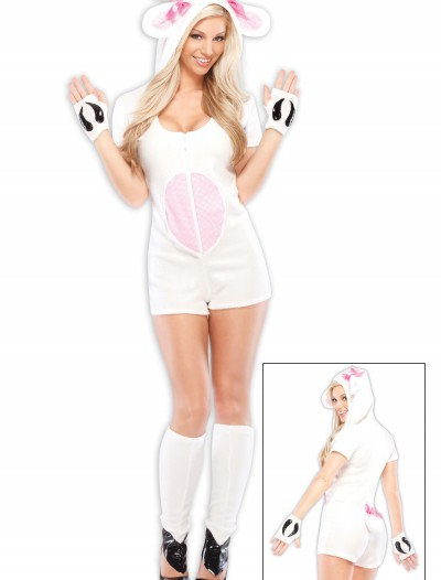 Women's Loveable Lamb Costume, halloween costume (Women's Loveable Lamb Costume)