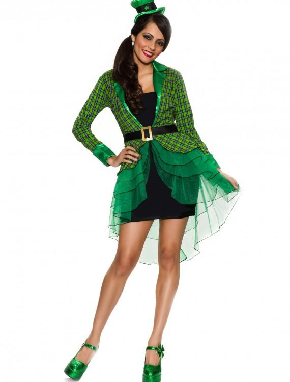 Womens Lucky Lass Costume, halloween costume (Womens Lucky Lass Costume)
