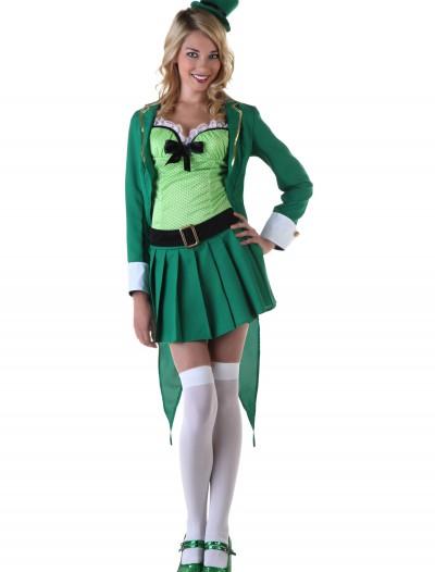 Womens Lucky Leprechaun Costume, halloween costume (Womens Lucky Leprechaun Costume)