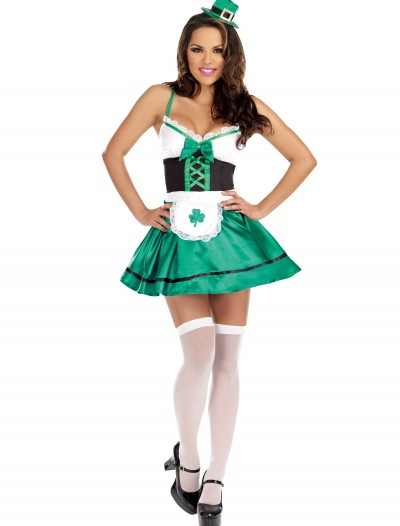 Women's Lucky You Leprechaun Costume, halloween costume (Women's Lucky You Leprechaun Costume)