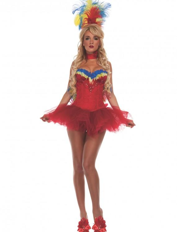 Women's Macaw Costume, halloween costume (Women's Macaw Costume)