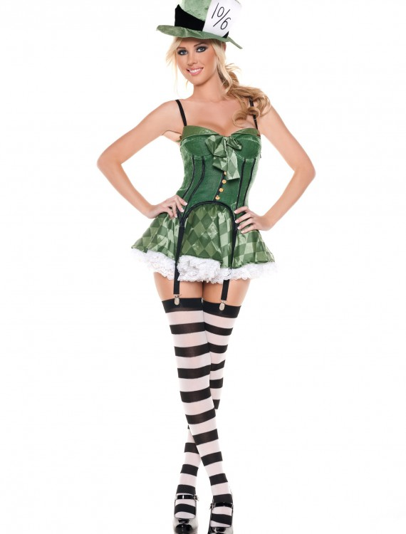 Women's Mad Hatter Costume, halloween costume (Women's Mad Hatter Costume)