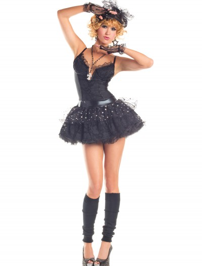 Women's Material Pop Star Costume, halloween costume (Women's Material Pop Star Costume)
