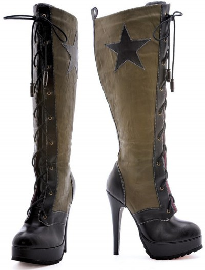 Womens Military Boots, halloween costume (Womens Military Boots)