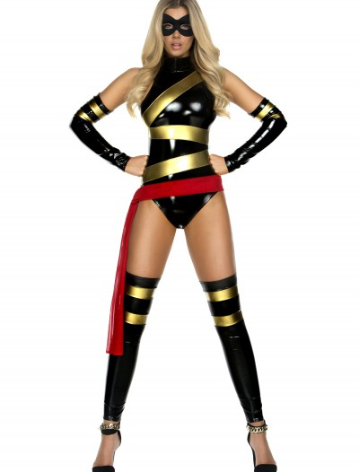 Women's Miss Marvelous Superhero Costume, halloween costume (Women's Miss Marvelous Superhero Costume)