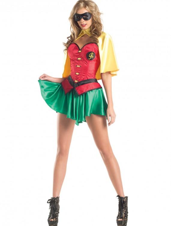 Womens Sexy Sidekick Costume, halloween costume (Womens Sexy Sidekick Costume)