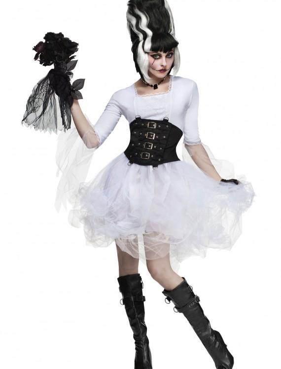 Womens Monster Bride Costume, halloween costume (Womens Monster Bride Costume)
