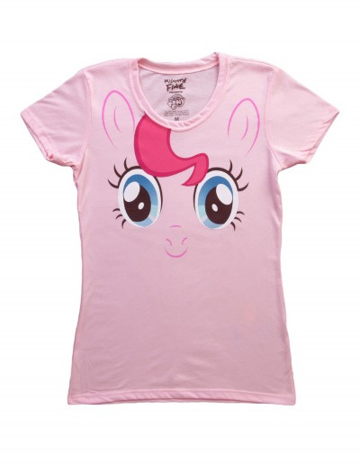 Womens My Little Pony Pinkie Pie Costume T-Shirt, halloween costume (Womens My Little Pony Pinkie Pie Costume T-Shirt)