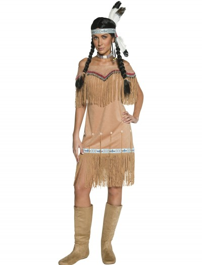 Women's Native American Costume, halloween costume (Women's Native American Costume)