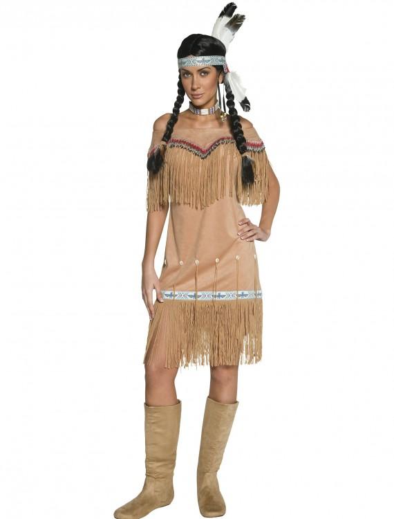 Women's Native American Costume, halloween costume (Women's Native American Costume)