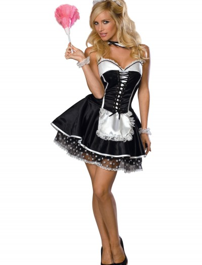 Womens Naughty Maid Costume, halloween costume (Womens Naughty Maid Costume)