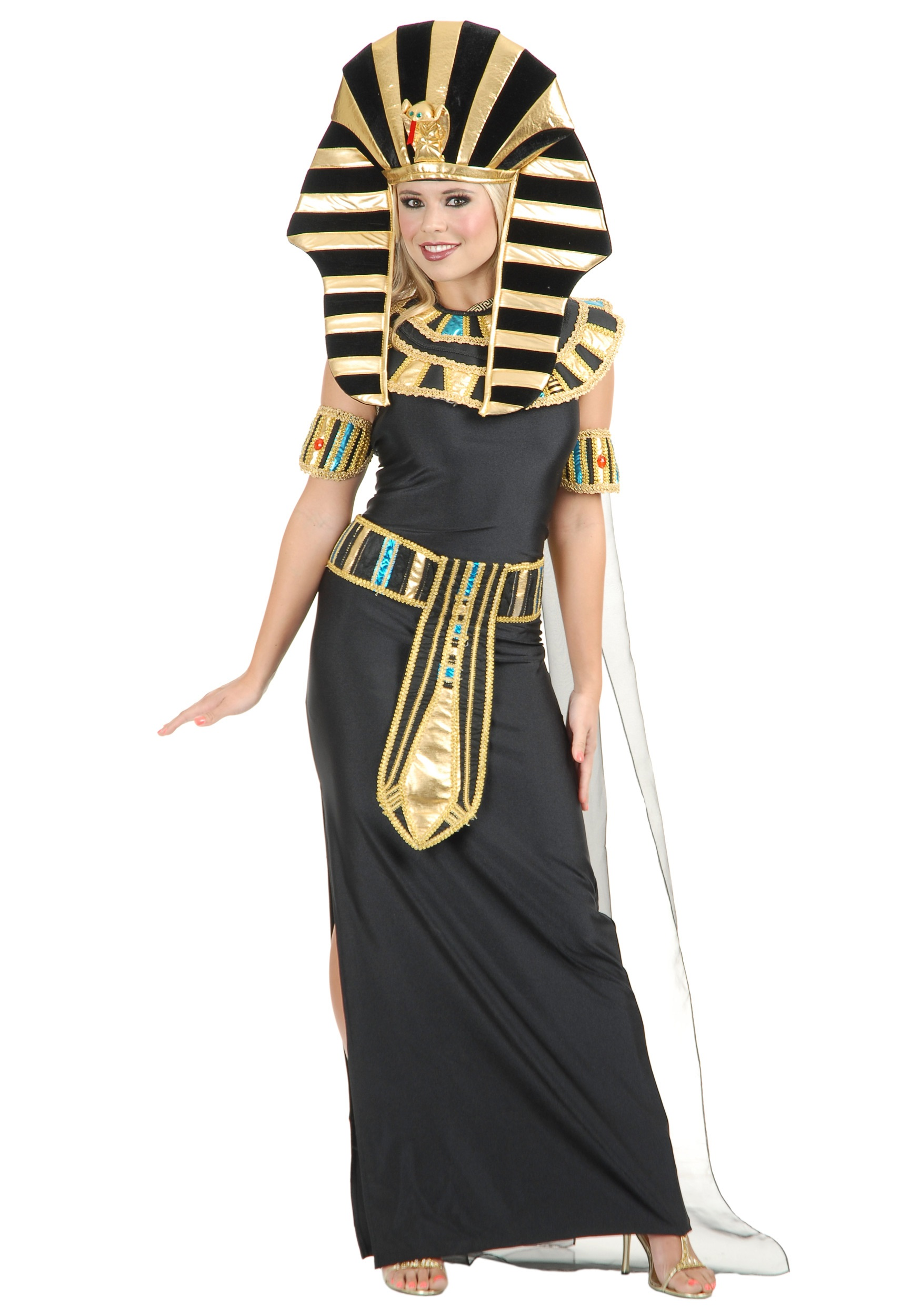 Womenu0027s Nefertiti Egyptian Costume  sc 1 st  Halloween Costumes : cleopatra costumes for women  - Germanpascual.Com
