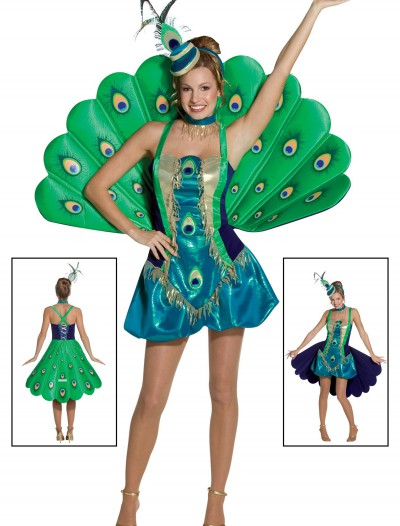 Womens Peacock Costume, halloween costume (Womens Peacock Costume)