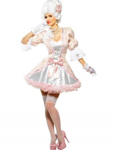 Womens Pink Marie Antoinette Costume, halloween costume (Womens Pink Marie Antoinette Costume)