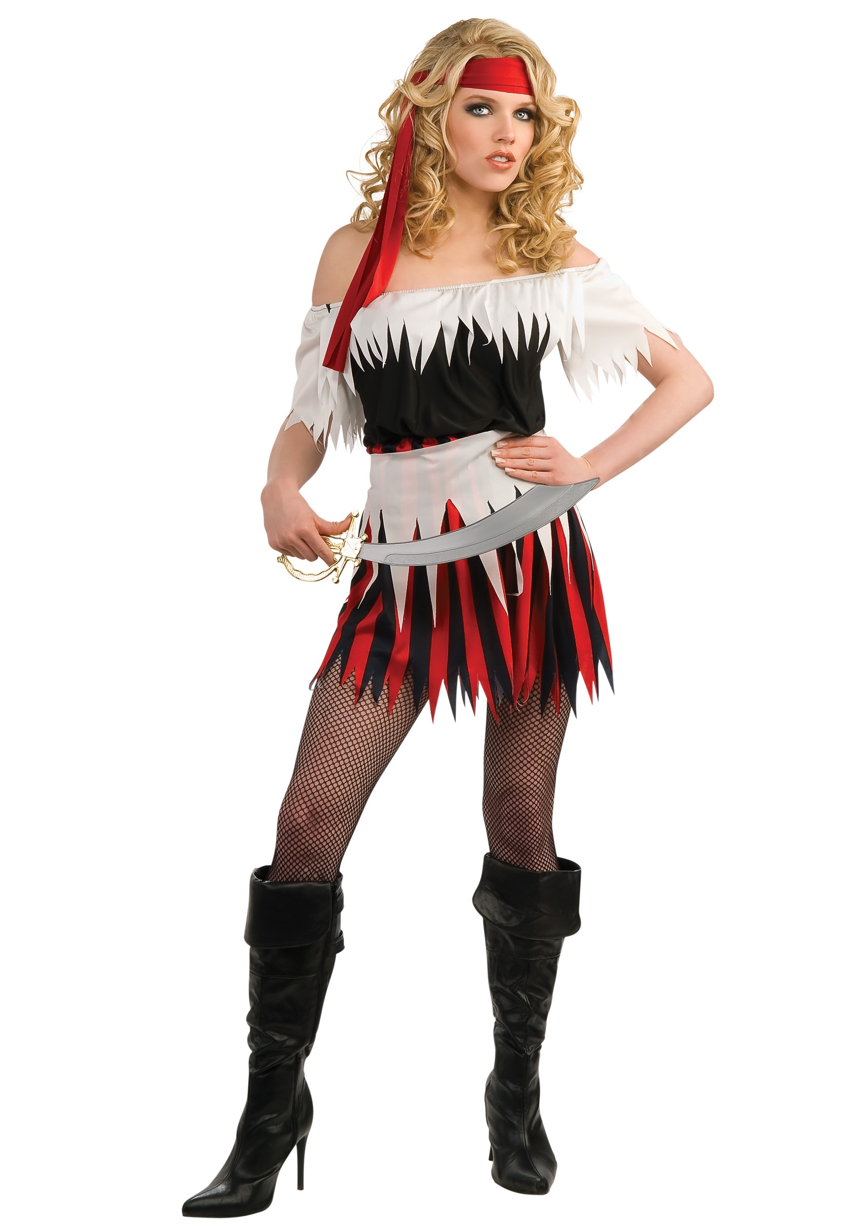 Womenu0027s Pirate Costume  sc 1 st  Halloween Costumes : womens pirate costumes  - Germanpascual.Com