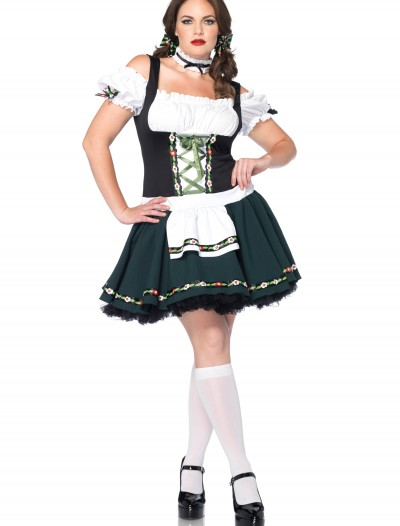 Women's Plus Size Bavarian Beauty Costume, halloween costume (Women's Plus Size Bavarian Beauty Costume)