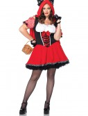 Women's Plus Size Red Riding Wolf Costume, halloween costume (Women's Plus Size Red Riding Wolf Costume)