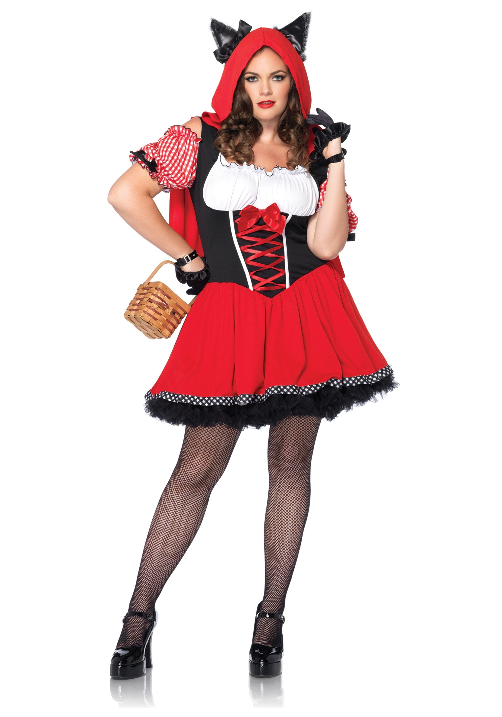 womens plus size red riding wolf costume - Wolf Costume Halloween