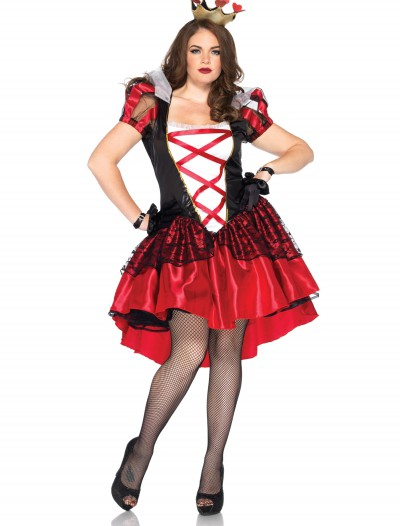 Womens Plus Royal Queen Costume, halloween costume (Womens Plus Royal Queen Costume)