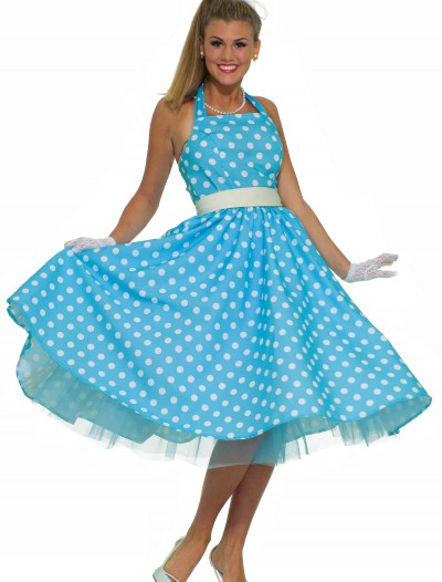 Women's Plus Size 50s Prom Dress, halloween costume (Women's Plus Size 50s Prom Dress)