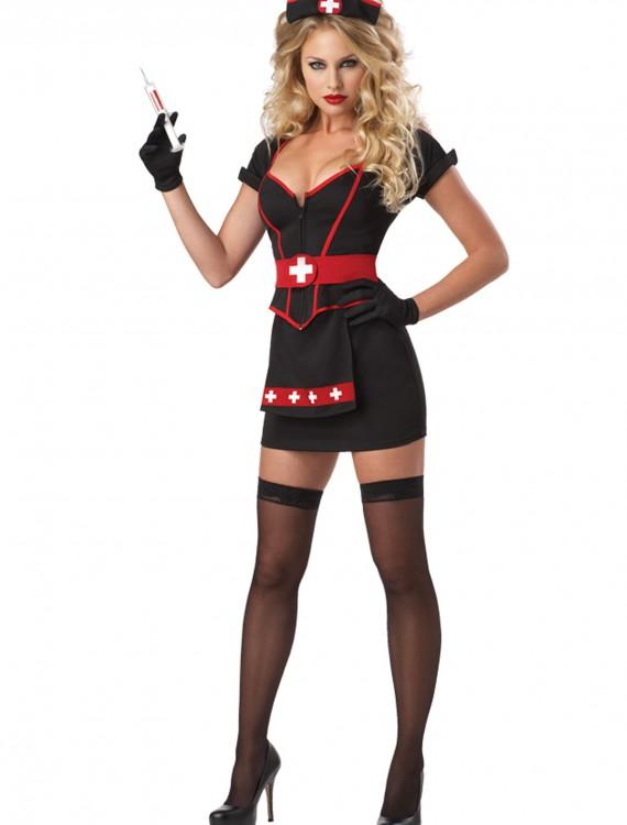 Womens Plus Size Cardiac Arrest Nurse Costume, halloween costume (Womens Plus Size Cardiac Arrest Nurse Costume)