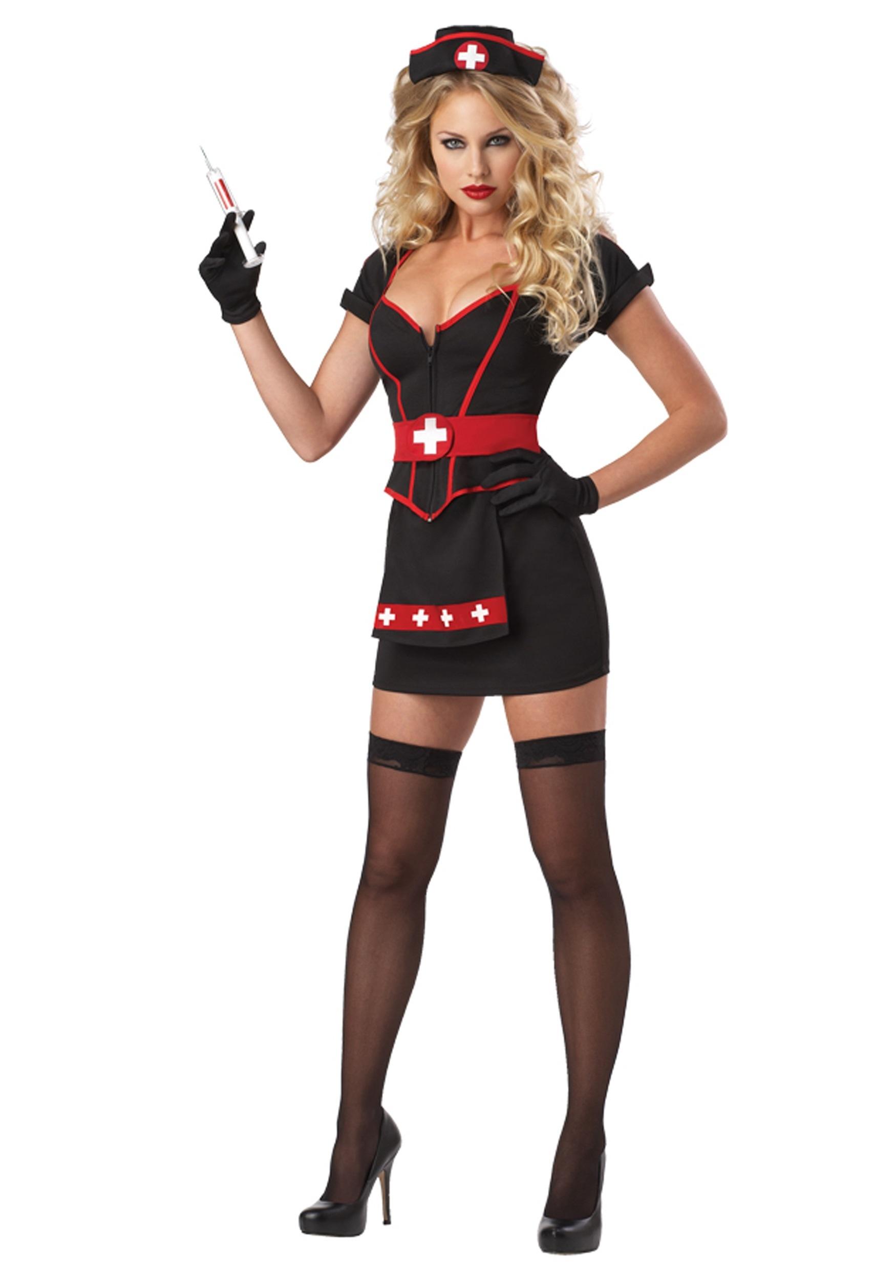 Womens Plus Size Cardiac Arrest Nurse Costume  sc 1 st  Halloween Costumes & Womens Plus Size Cardiac Arrest Nurse Costume - Halloween Costumes