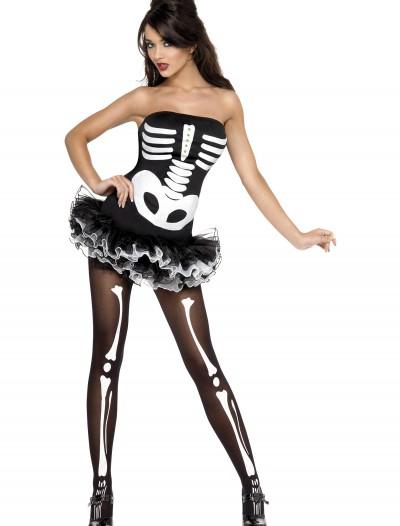 Womens Plus Size Sexy Skeleton Costume, halloween costume (Womens Plus Size Sexy Skeleton Costume)