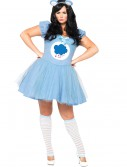 Plus Size Care Bears Grumpy Bear Costume, halloween costume (Plus Size Care Bears Grumpy Bear Costume)