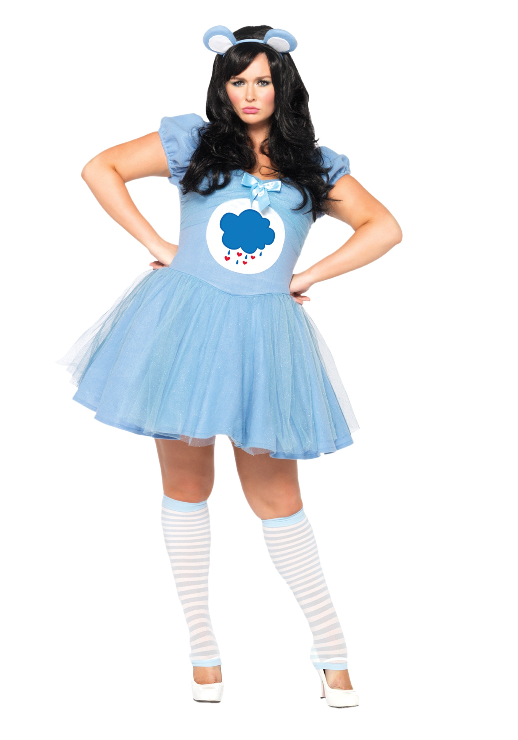 Plus Size Care Bears Grumpy Bear Costume  sc 1 st  Halloween Costumes & Plus Size Care Bears Grumpy Bear Costume - Halloween Costumes