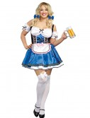 Women's Plus Size Happy New Beer Costume, halloween costume (Women's Plus Size Happy New Beer Costume)