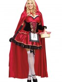 Women's Plus Size Little Red Costume, halloween costume (Women's Plus Size Little Red Costume)