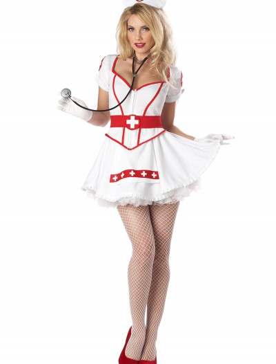 Women's Plus Size Nurse Heartbreaker Costume, halloween costume (Women's Plus Size Nurse Heartbreaker Costume)