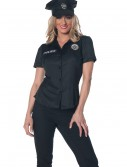 Women's Plus Size Police Shirt, halloween costume (Women's Plus Size Police Shirt)