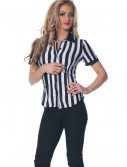 Women's Plus Size Referee Shirt, halloween costume (Women's Plus Size Referee Shirt)