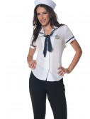 Women's Plus Size Sailor Shirt, halloween costume (Women's Plus Size Sailor Shirt)