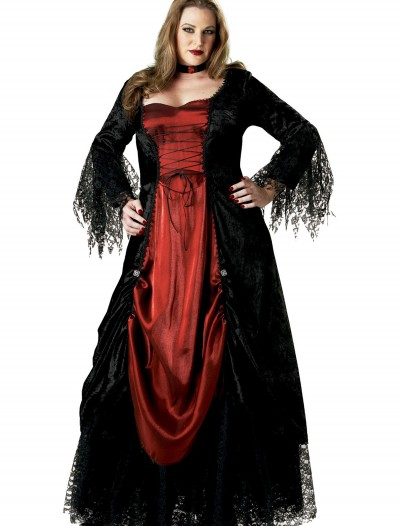 Women's Plus Size Vampire Costume, halloween costume (Women's Plus Size Vampire Costume)