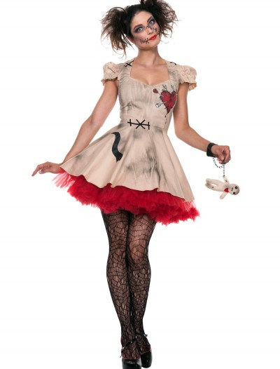 Womens Plus Size Voodoo Doll Costume, halloween costume (Womens Plus Size Voodoo Doll Costume)