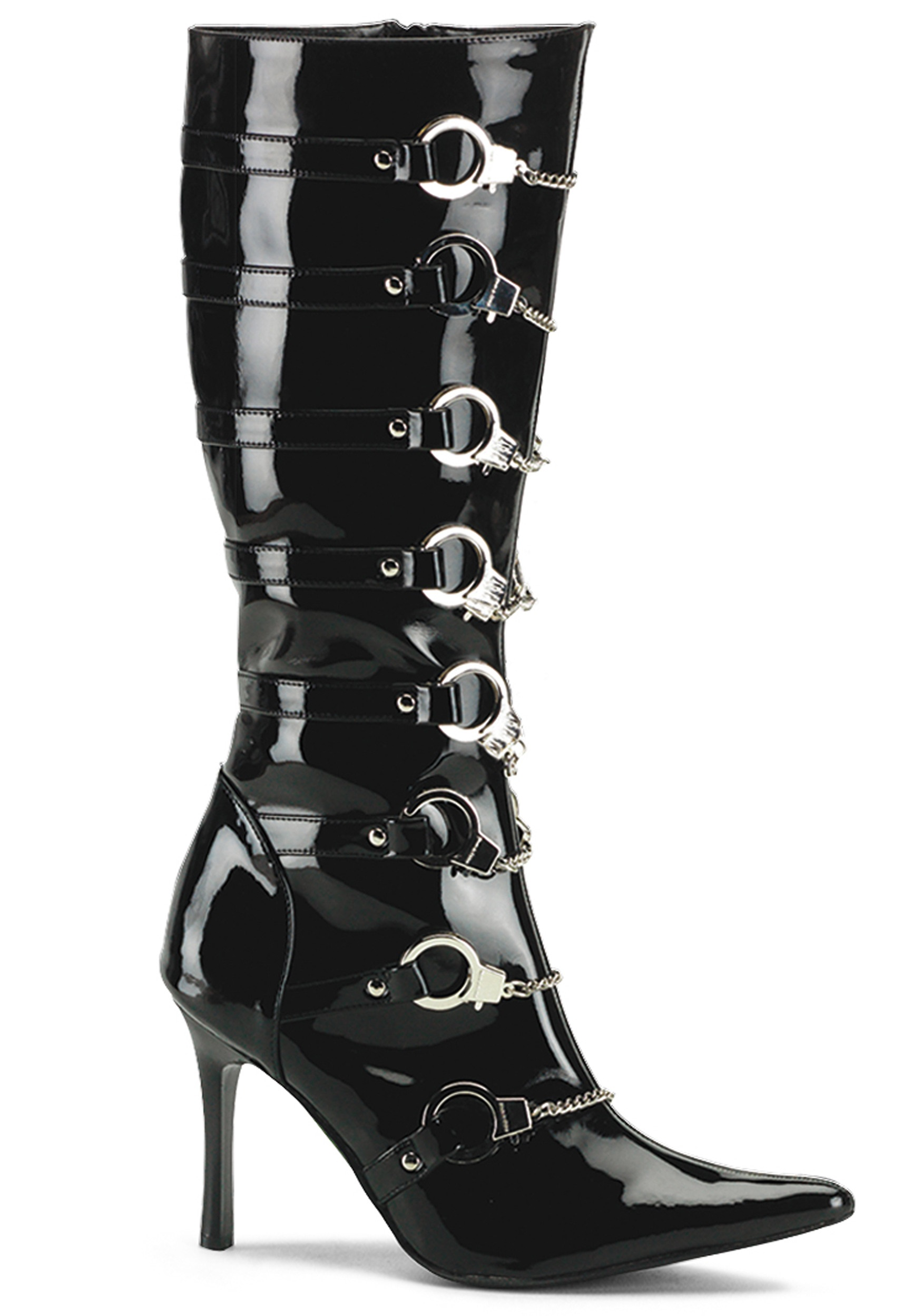 Womens Police Boots - Halloween Costumes