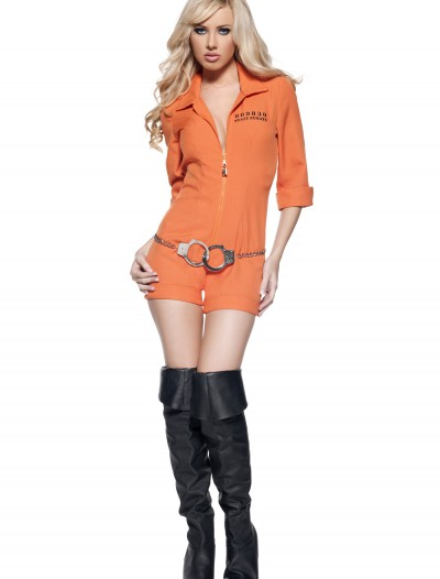 Womens Prison Jumpsuit, halloween costume (Womens Prison Jumpsuit)