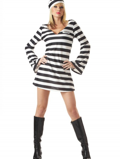 Women's Prisoner Costume, halloween costume (Women's Prisoner Costume)