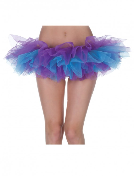 Womens Purple and Blue Tutu, halloween costume (Womens Purple and Blue Tutu)