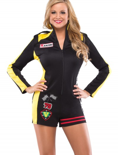 Womens Race Car Girl Costume, halloween costume (Womens Race Car Girl Costume)