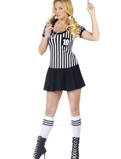 Womens Racy Referee Costume, halloween costume (Womens Racy Referee Costume)